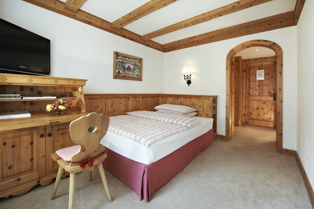 Complimentary WiFi, Safe. Room Is Furnished With Traditional Engadine Pine  Wood. Size:18 20 Square Metres.